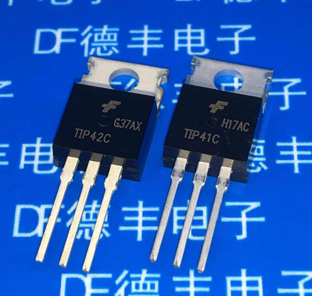 tip41 to 220 trans gp bjt npn 100v 6a 3 pin 3  [ 1000 x 950 Pixel ]
