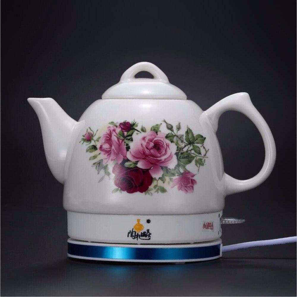 Цзиндэчжэнь Электрический чайник керамический электрический чайник здоровья автоматического выключения функции нагрева воды чайник