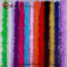 Боа из пера индейки лента из перьев индейки пушистое Ремесло Украшение чанделла перо боа марабу боа
