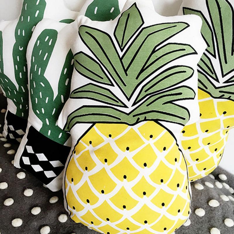 Pineapple cactus cotton Pillowcase <font><b>cushion</b></font> for <font><b>home</b></font> Decorative, sofa ,chair Decorative <font><b>Cushion</b></font> <font><b>Home</b></font> Decor throw