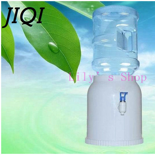 MINI Desktop water fountains buckets office home water holder dispenser base barrel pump watering drinking Water pressure device 1pcs pure water machine self priming pump water pp cotton filter 2 points drinking fountains accessories home appliance parts