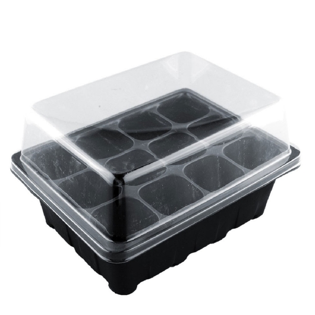 12-Cell Hole Nursery Pot Plant Seed Grow Box
