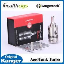 Original Kanger Aerotank Turbo atomizer Kangertech Aerotank Upgrade Dual Coil 6.0ml atomizer huge Vapor adjustable airflow