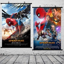 Spider Man Wall Art Canvas Poster Prints Painting Nordic Kids Decoration Pictures Scroll for Children