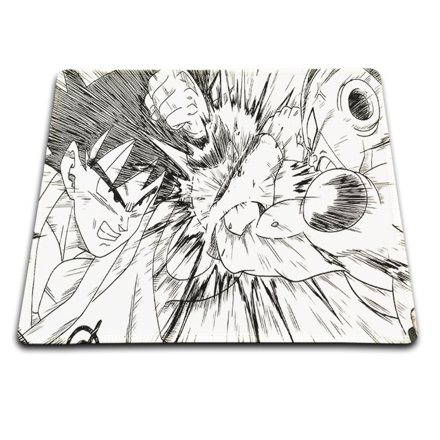 Dragon Ball Z Comics Gaming Mouse Mat Rubber Pad