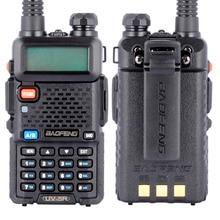 BAOFENG UV-5R Walkie Talkie Dual Band Radio 136-174Mhz & 400-520Mhz Baofeng UV5R handheld Two Way Radio Black US Plug