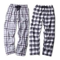 Printemps 100% coton sommeil léger bas femmes confort Casual Chaud couples pantalon de vêtements de nuit plaid pyjamas sheer femmes pantalon