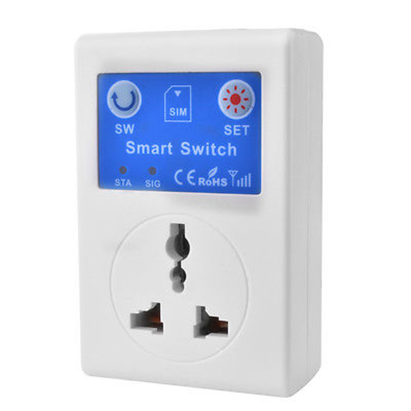 GSM Mobile Phone Smart Remote Control Socket EU UK AU Plug SC1 GSMVC in Transmission Cables from Security Protection