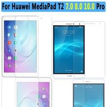 Calidad Premium Vidrio Templado Para El Huawei Mediapad T2 10.0 Pro Protector de Pantalla Para Huawei Mediapad Tablet T2 7.0 8.0 Pro película