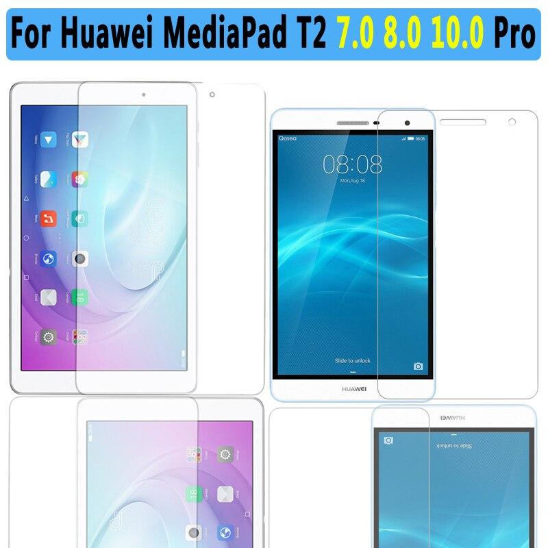 Qualité Premium En Verre Trempé Pour Huawei Mediapad T2 10.0 Pro Tablet Écran Protecteur Pour Huawei Mediapad T2 7.0 8.0 Pro Film
