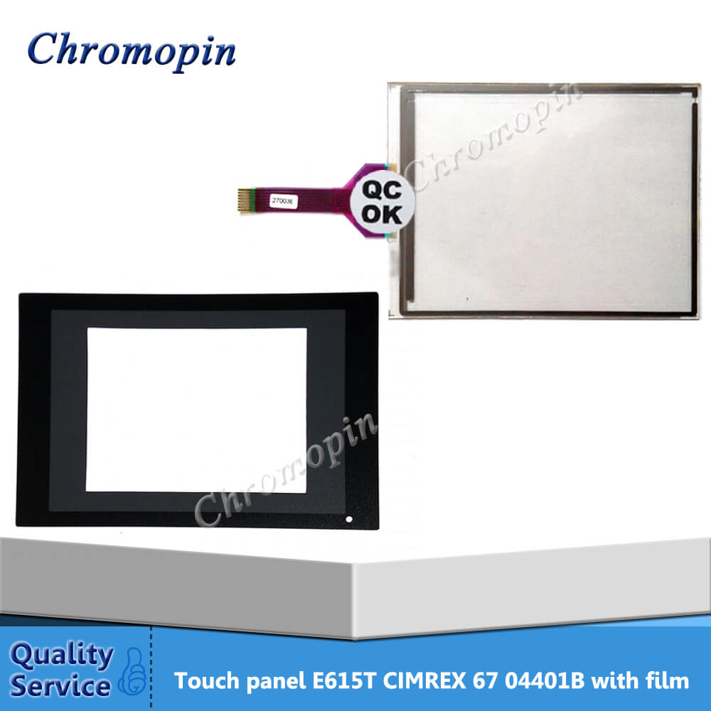 Touch panel screen for Beijer E615T CIMREX 67 04401B M357 12S 6012504 with protective film