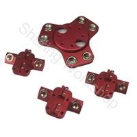 Reprap kossel k800 magnetic dual effector and magnetic carriage kit DIY 3D printer full metal kit