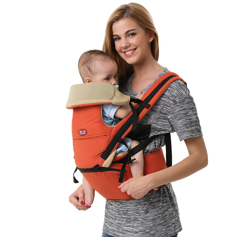 ФОТО Hot Selling Multifunctional Breathable Baby Backpack Baby Sling Belt Baby Stool Double Shoulder Bag Waist Strap Labor Saving