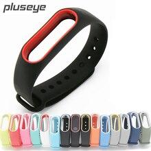 Pluseye Smart Браслет Группа ремешок для сяо Mi mi Группа 2 умный Браслет Mi band 2 замена силиконовый ремешок
