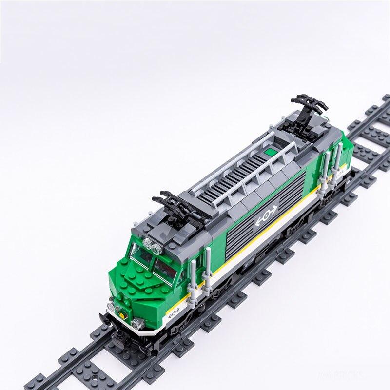 Model Building Kits Compatible City Train 426 3D Blocks Educational Kids Toy