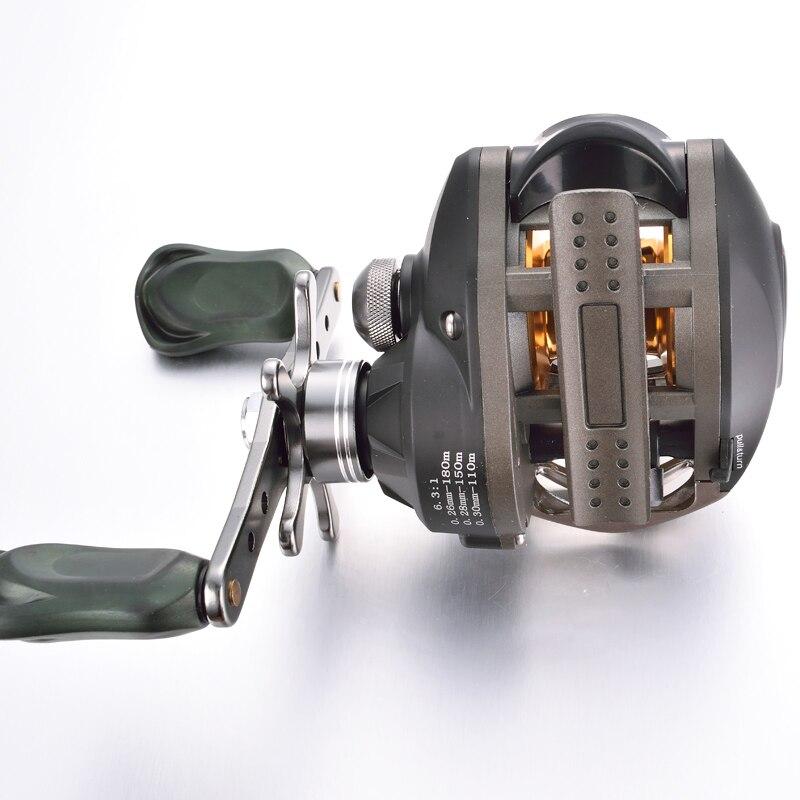 Vissen Baitcasting tekercs 10 golyóscsapágy bal kéz jobb - Halászat - Fénykép 5