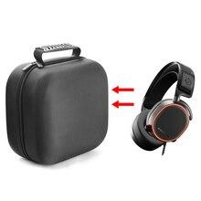 2019ใหม่ล่าสุดแบบพกพาEVAกระเป๋าเดินทางป้องกันกระเป๋าสำหรับSteelSeries Arctis Pro Gamingหูฟังชุดหูฟัง