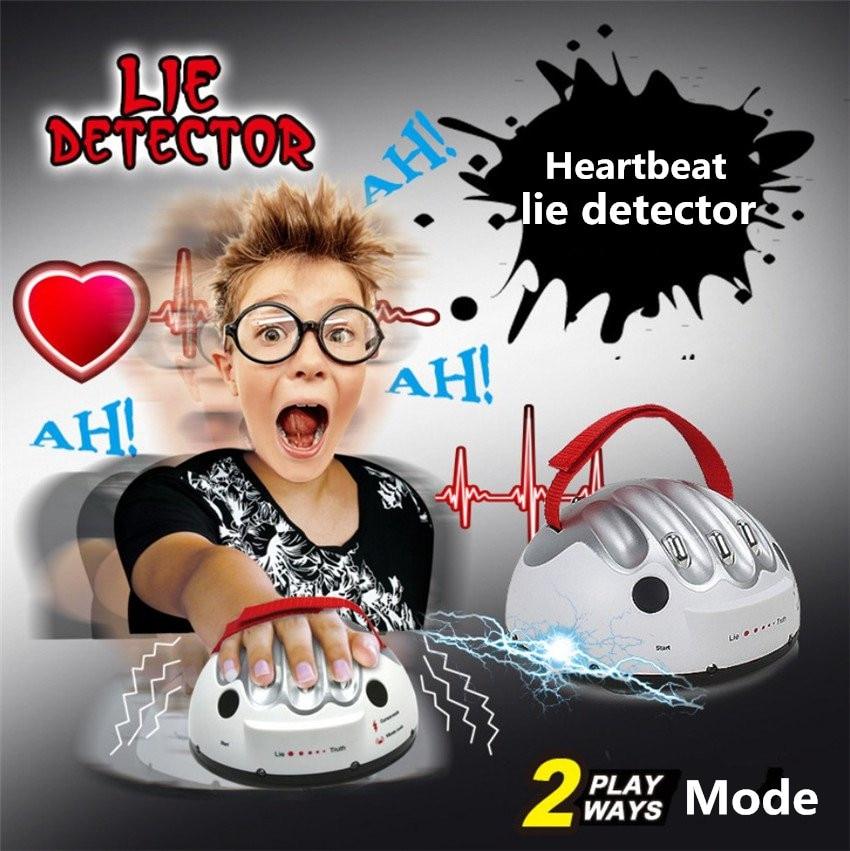 Tricky смешной регулируемый взрослый Полиграф Тест Микро ток вибрирующий детектор лжи шокирующий лжец истина вечерние игровые консоли Подарочная игрушка