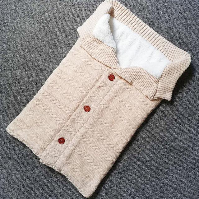 Knitted Acrylic Sleeping Bag