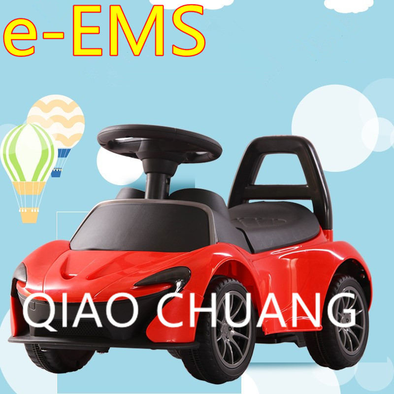Children Driving Car Four Rounds Scooter Electric Baby Swing Car With Music LED Light Cr ...