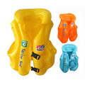 High Quality Children Vest Shaped Swimming Floating Kids Safety Inflatable PVC Swimming Assistant Training Accessories A004