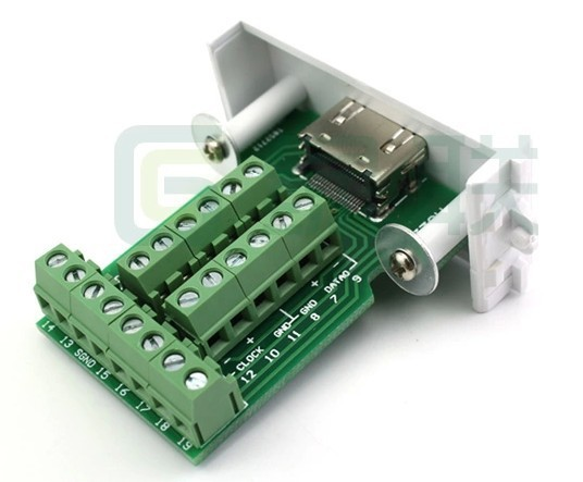 1.4 3D HDMI Female Modular Socket WALL Plate NO NEED Soldering diy