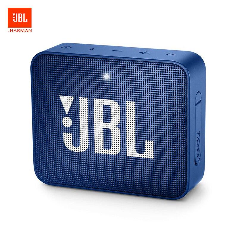 Mini haut-parleur Bluetooth JBL GO 2 caisson de basses Audio Portable Mini haut-parleur Multi couleur forte puissance haut-parleur intégré