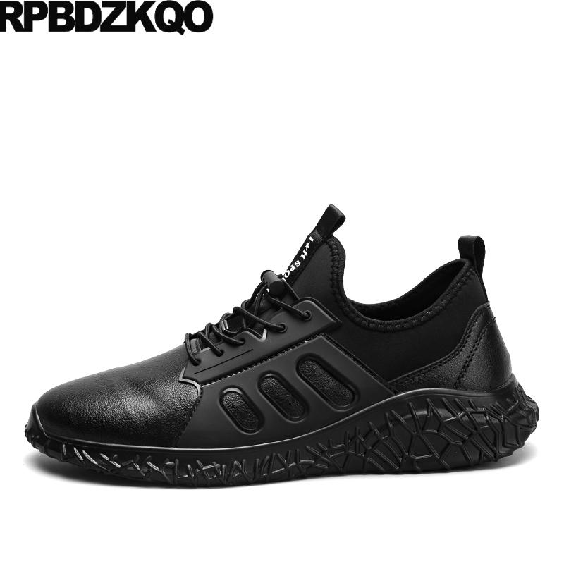Trainers Casual Soft Soled Black Breathable Walking Printed 2017 Men Comfort Sneakers Lace Up Shoes Hot Sale Fashion Stylish