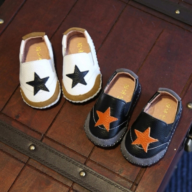Leather Baby Boy Shoes Moccasins Infant Polo Sapato Infantil Menino Baby Shoes Infant Boys Footwear Toddler Items 603177