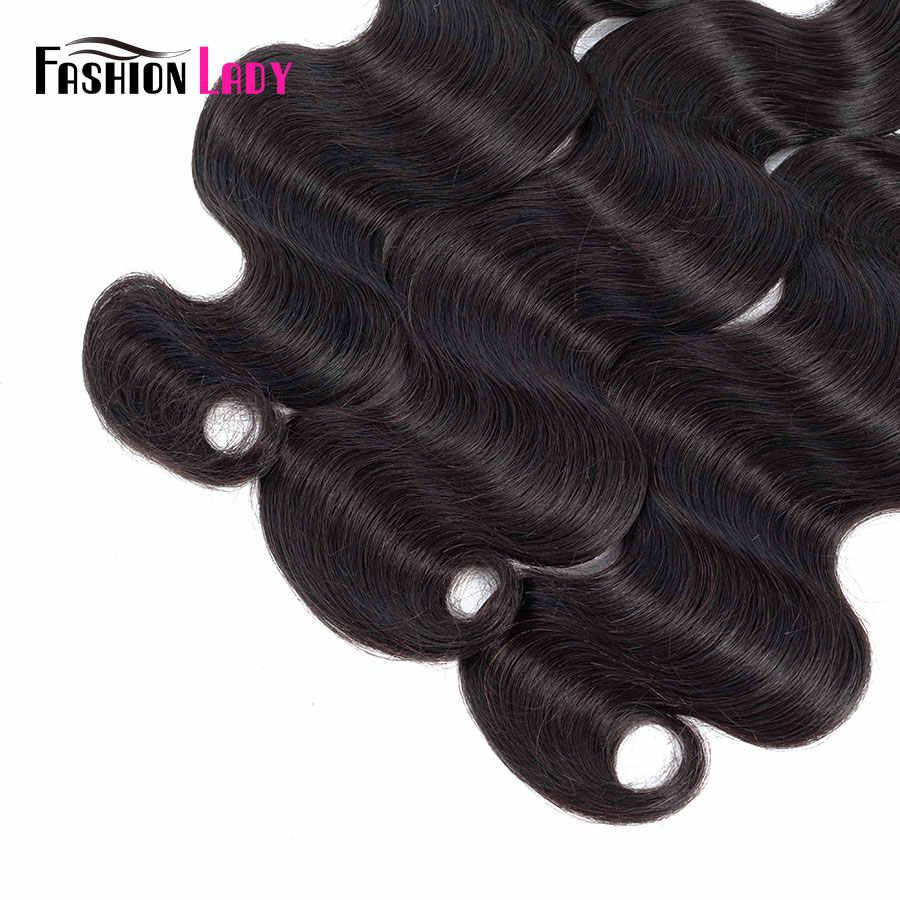 Moda bayan ön renkli hint vücut dalga demetleri insan saçı örgüsü doğal renk 1b saç ekleme 3/4 paket paket başına olmayan Remy