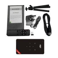 GP 9 Мини проектор Full HD 1080p видео домашний театр Android Wi Fi Поддержка HDMI USB AV Media Player