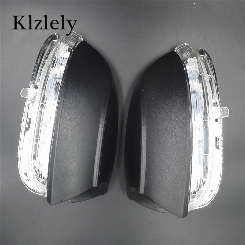 купить For Volkswagen Golf Touran 2003-2013+ Led Car Styling Side Mirror With Indicator Turn Signals Lights left + right 5K0 949 102 дешево