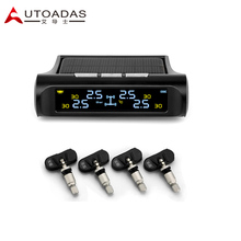Tire Pressure Monitoring System with 4 Internal sensors Solar LCD  PSI BAR  Car TPMS tpms tools diagnostic tool tire pressure