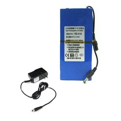 DC 12V 18000mAh Super Rechargeable Lithium-ion Battery Pack YSD-12-18