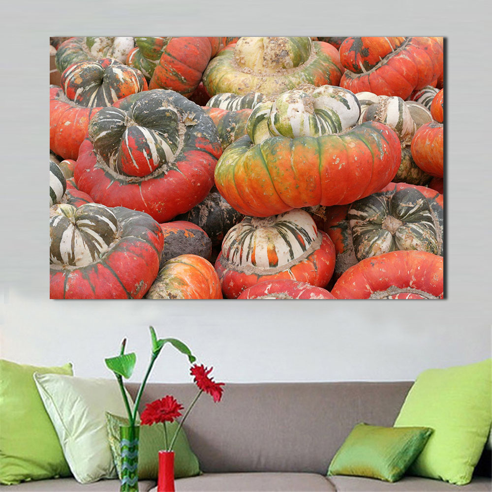 compare prices on harvest pumpkin online shopping buy low price wang art pumpkin harvest canvas art home decor wall art painting wall painting picture modern no