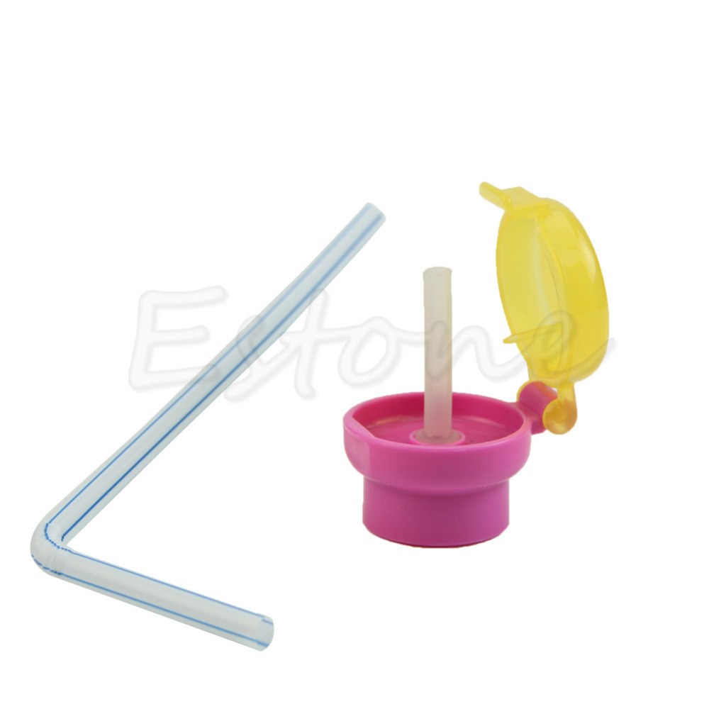 Drinking straw Suction Cap Sell Good Baby Kid Child Infant Toddler Feeding Drinking Straw Tube Bottle Cap