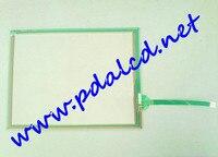 Skylarpu 5,7 дюймов 4 провода Сенсорная панель QST 057A075H промышленного применения управления оборудование сенсорный экран панель стекло Бесплатна