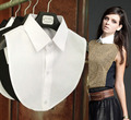 2016 Новая Мода ложные воротник белый и черный блузка съемные воротники