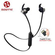 Auricolari Bluetooth cuffie Wireless attrazione magnetica Sport impermeabile XT 22 cuffie vivavoce con supporto per microfono TF card