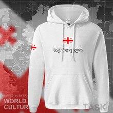 Georgia hoodie mannen sweatshirt zweet nieuwe hip hop streetwear trainingspak natie voetballer sporting land vlag GEO Georgische