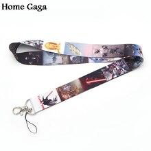 D0318 Homegaga Newest Fashion cute  Lanyard for Key Phones USB Flash Drives Keys Keychains ID Name Tag Badge Holders