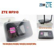 ZTE MF910 kieszonkowy router LTE 4G WiFi unlocked z bezpłatnym 2 sztuk anteny