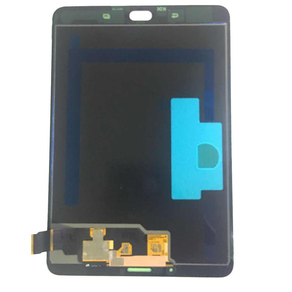 三星銀河タブ S2 T710 T715 SM-T715 Lcd ディスプレイタッチスクリーンデジタイザセンサーアセンブリパネル交換 8.0 インチ