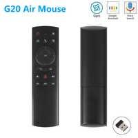 G20 G20S Giroscopio Intelligente di Voce di Controllo Remoto di Apprendimento IR 2.4G Wireless Fly Air Mouse per X96 Mini H96 MAX x99 Android TV Box vs G10