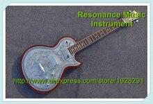 Neue Ankunft Benutzerdefinierte 22 LP Gitarre Mit Zinn Top Benutzerdefinierte Gitarre & Kit Verfügbar
