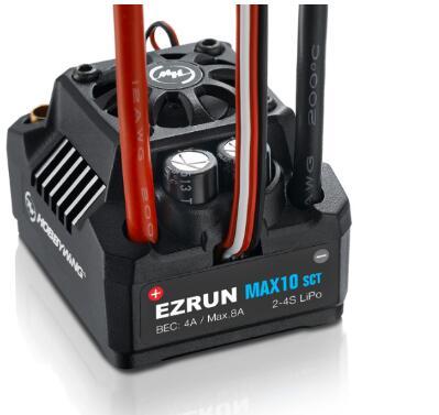 Hobbywing EzRun Max6 V3/Max5 V3/MAX10 SCT 160A/200A/120A régulateur de vitesse étanche sans brosse ESC pour voiture 1/6 1/5 RC - 5