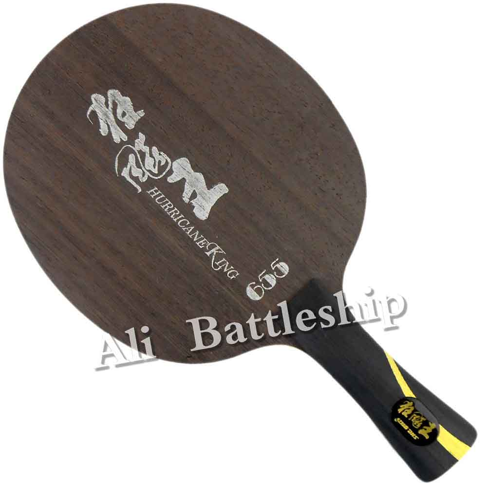 Original DHS Hurricane King 655 Table Tennis Blade Racket Ping Pong Bat PaddleOriginal DHS Hurricane King 655 Table Tennis Blade Racket Ping Pong Bat Paddle