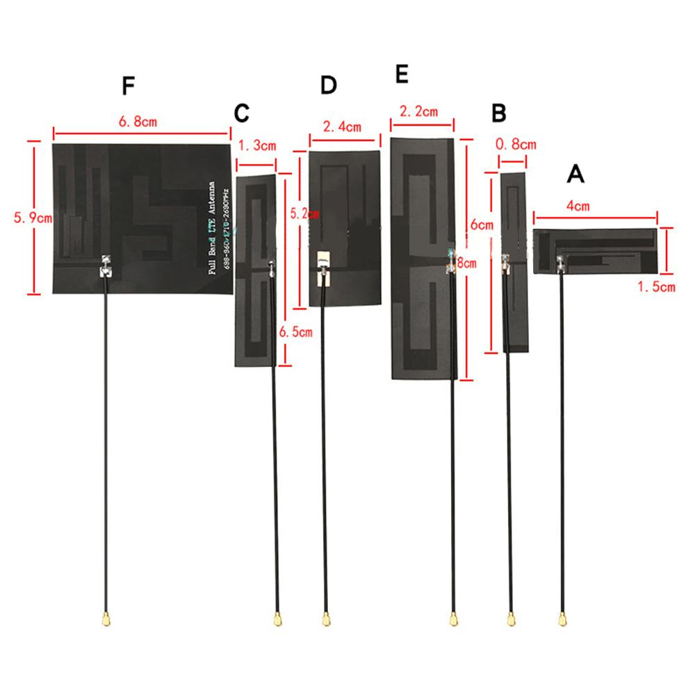 1PC 2G GSM Antenna  FPC Soft Aerial 700-960Mhz 6dbi 8dbi Internal PCB Antenna 52x24mm 80x22mm NEW