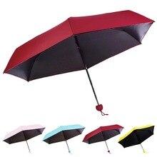 Newly Women Mini Umbrella Funny Capsule Design Folding Lady Girl Rain Sun Umbrellas XSD88