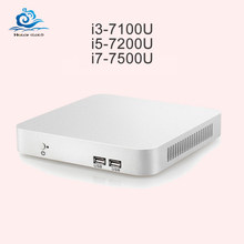 Mini PC Core CPU Gen 7th I3 7100U I5 7200U I7 7500U Windows 10 4 K HD Celeron N3160 Mini komputer Desktop 8 GB RAM HDMI WIFI USB(China)